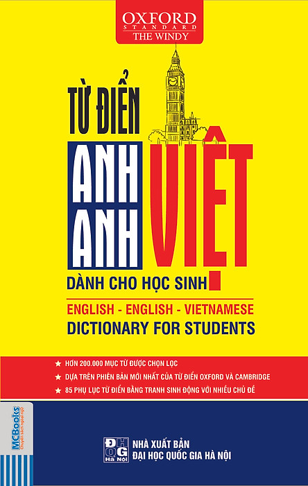 Từ Điển Anh - Anh - Việt (Bìa Mềm Vàng)