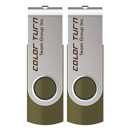 Bộ 2 USB 16GB Team Group INC E902 - Hàng Chính Hãng