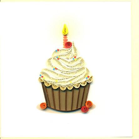 Thiệp Sinh Nhật Việt Net - Cupcake (10 x 10 cm)