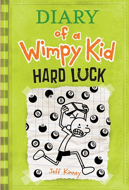Truyện thiếu nhi tiếng Anh - Diary Of A Wimpy Kid 08: Hard Luck (Hardcover)