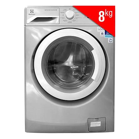 Máy Giặt Cửa Ngang Inverter Electrolux EWF12853S (8Kg) - Xám Bạc - Hàng Chính Hãng