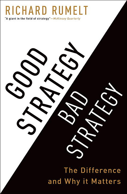 Good Strategy Bad Strategy: The Difference And Why It Matters
