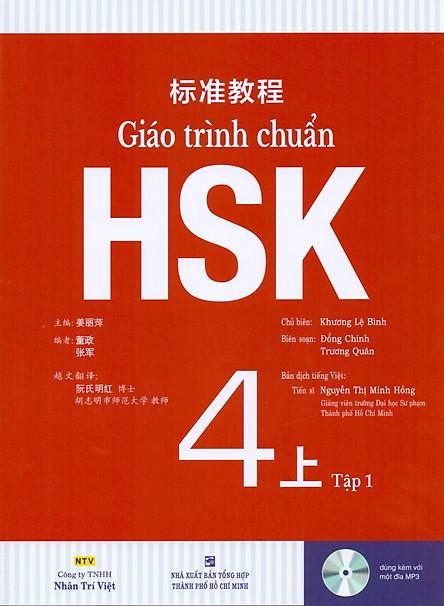 Giáo Trình Chuẩn HSK 4 Bài Học (Tập 1)