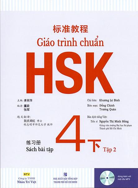 Giáo Trình Chuẩn HSK 4 Bài Tập (Tập 2)