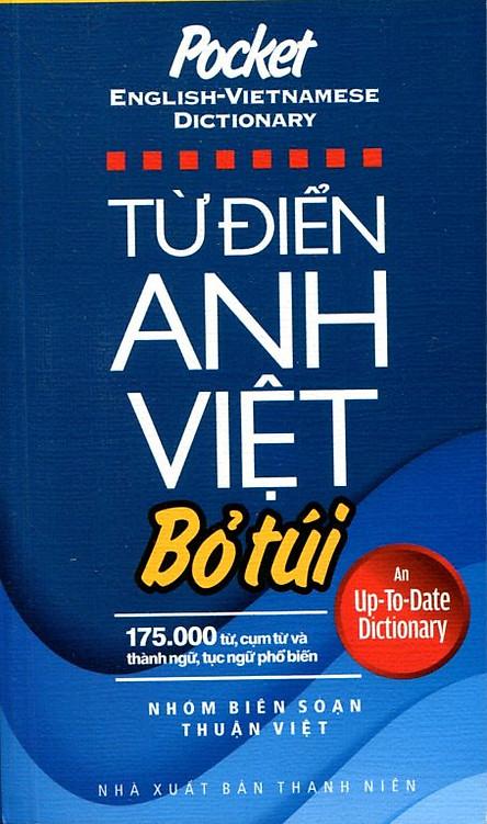 Từ Điển Anh Việt Bỏ Túi