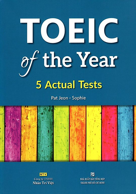 TOEIC Of The Year (Kèm CD)