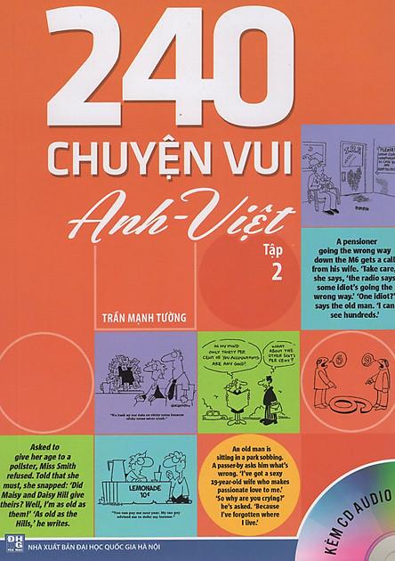 240 Chuyện Vui Anh - Việt (Tập 2) - Kèm CD