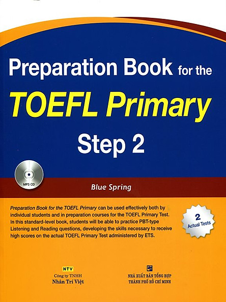 Preparation Book For TOEFL Primary Step 2 (Kèm CD)