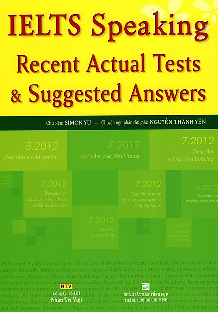 IELTS Speaking - Recent Actual Tests & Suggested Answers