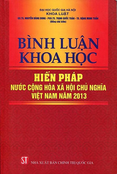 Bình Luận Khoa Học Hiến Pháp Nước Cộng Hòa Xã Hội Chủ Nghĩa Việt Nam