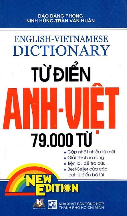 Từ Điển Anh - Việt 79.000 Từ (Tái Bản)