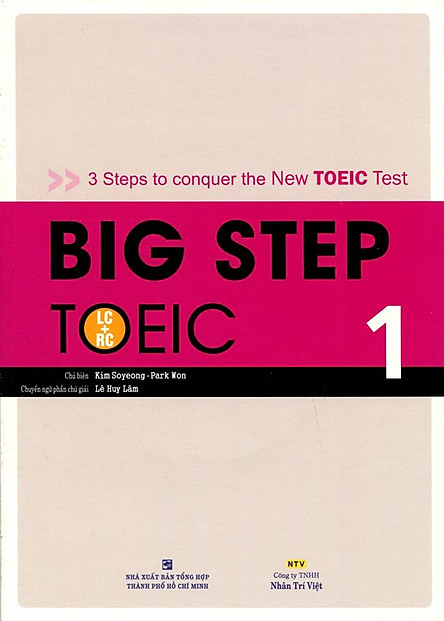 Big Step TOEIC 1 (LC + RC) - Kèm CD Hoặc File MP3