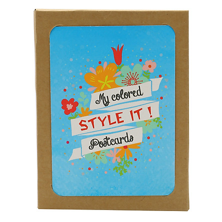 Postcard Bộ - Bộ Postcard Style It! My Colored 1 - Pc13B0000009