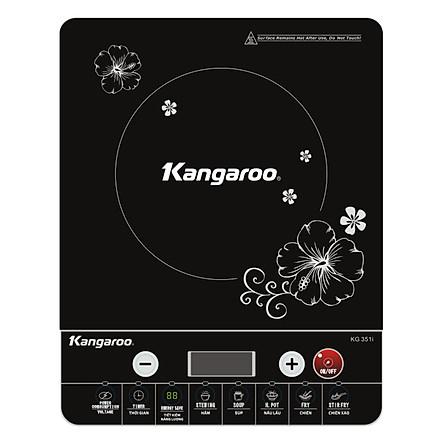 Bếp Điện Từ Kangaroo KG351i - Tặng Kèm Nổi Lẩu - Hàng chính hãng