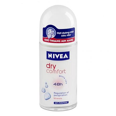 Lăn Khử Mùi Nữ Khô Thoáng Nivea 50ml - 81611