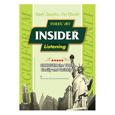 TOEFL iBT Insider Listening (Không Kèm CD)