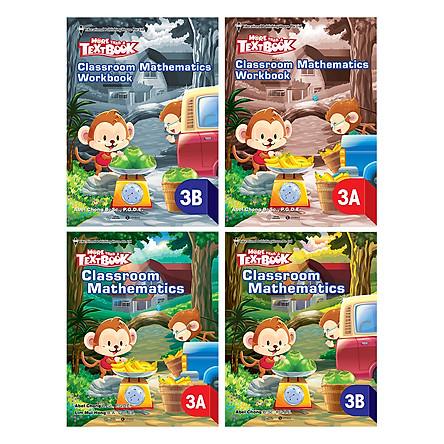 Bộ Sách Giáo Khoa Toán Singapore - More Than A Text Book - Classroom Mathematics Lớp 3 (Trọn Bộ 4 Cuốn)