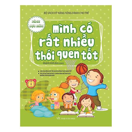 Bộ Sách Kĩ Năng Sống Dành Cho Trẻ - Mình Có Rất Nhiều Thói Quen Tốt