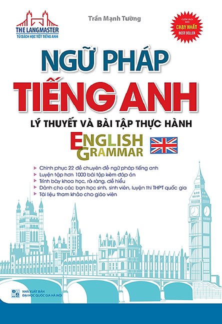 The Langmaster - Ngữ Pháp Tiếng Anh Lý Thuyết Và Bài Tập Thực Hành English Grammar
