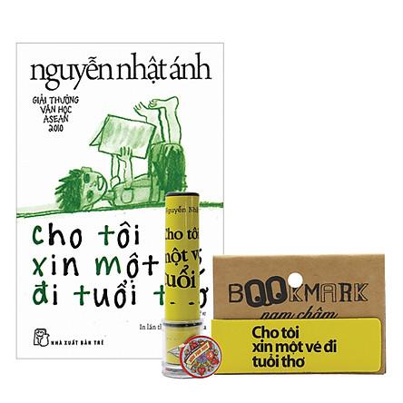 Combo Cho Tôi Xin Một Vé Đi Tuổi Thơ (Tặng Kèm Bookmark Nam Châm)