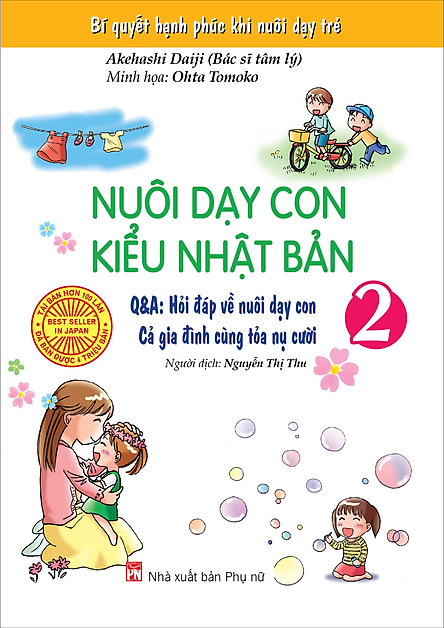 Nuôi Dạy Con Kiểu Nhật Bản (Tập 2)   Tiki