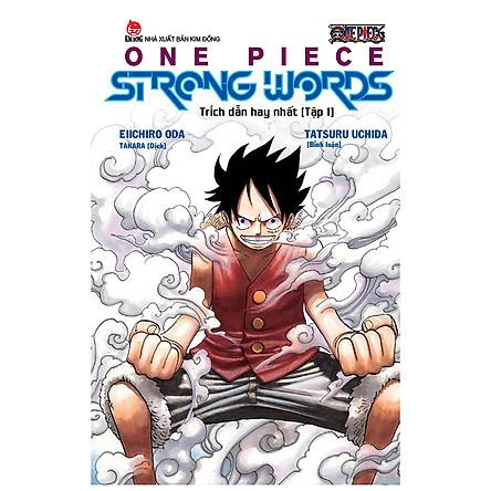 One Piece Strong Words - Trích Dẫn Hay Nhất - Tập 1