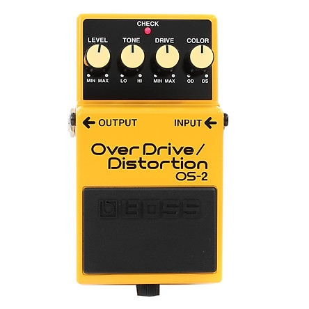 Phơ Guitar Boss Digital Overdrive/Distortion OS-2 (Bàn Đạp Fuzz Pedals Effects)