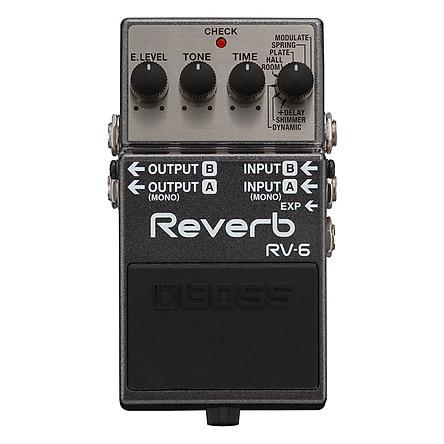 Phơ Guitar Boss Digital Reverb RV-6 (Bàn Đạp Fuzz Pedals Effects)