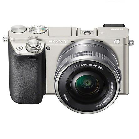 Máy Ảnh Sony Alpha A6000 + 16-50mm - Bạc - Hàng chính hãng