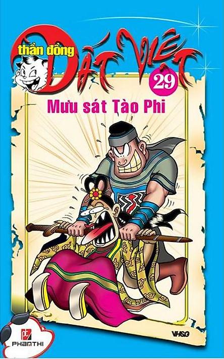 Thần Đồng Đất Việt 29 - Mưu Sát Tào Phi