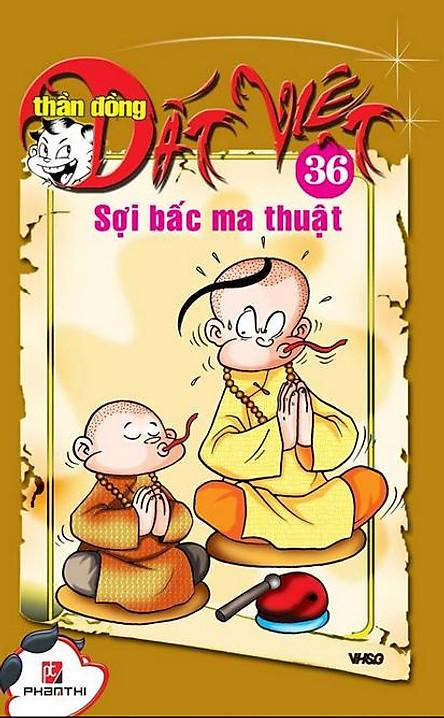 Thần Đồng Đất Việt 36 - Sợi Bấc Ma Thuật
