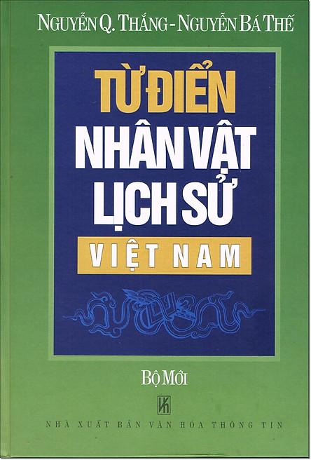 Từ Điển Nhân Vật Lịch Sử Việt Nam