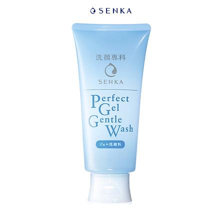 Gel rửa mặt dịu nhẹ Senka Perfect Gel Gentle Wash