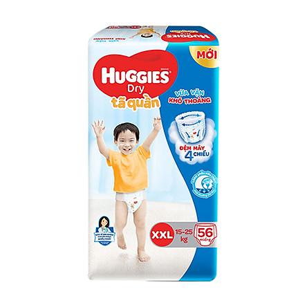 Tã quần Huggies Super Jumbo size XXL56 - 56 Miếng (15 - 25kg)