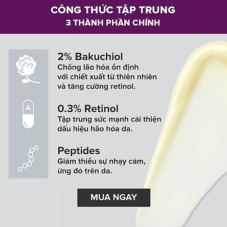 Kem chống lão hóa chuyên sâu chứa Retinol và Bakuchiol- 8015