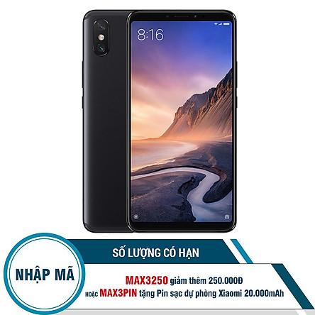 Điện Thoại Xiaomi MI MAX 3 (64GB/4GB) - Hàng Chính Hãng