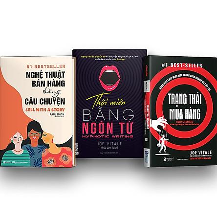 Combo 3 Cuốn: Đọc Vị Trong Bán Hàng – Thôi Miên Trong Bán Hàng kt ( Nghệ Thuật Bán Hàng Bằng Câu Chuyện , Trạng thái mua hàng: Khoa học thôi miên mới trong kinh doanh và tiếp thị , Thôi miên bằng ngôn từ (bìa tím)