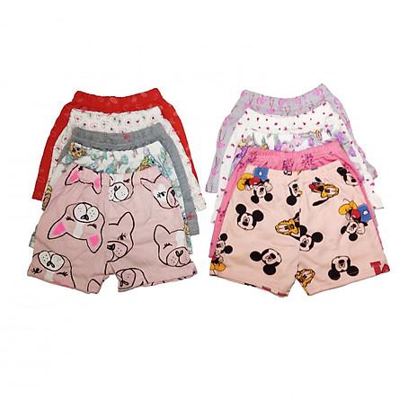 Set 10 quần đùi xuất khẩu cho bé gái siêu đẹp chất lượng ZIPPYQD01