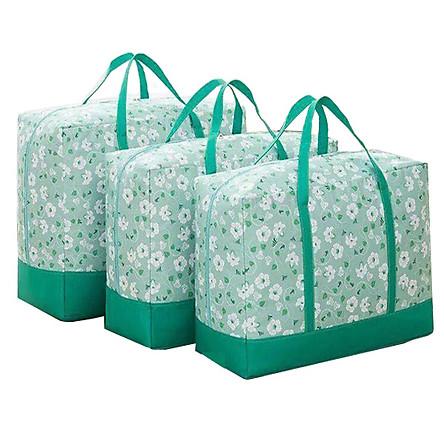 Bộ 03 túi đựng chăn màn quần áo tiện dụng