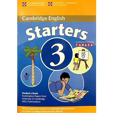 Cambridge Young Learner English Test Starters 3: Student Book