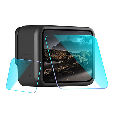 Fun Tempered Glass Lens Film Screen Protector for GoPro Hero 8 Black Camera Toughened Anti-Scratch Display Accessories