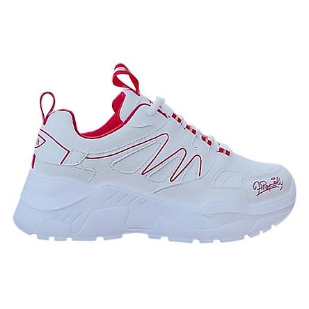 Giày Sneaker Nữ Độn Đế Vạch Sóng HAPU
