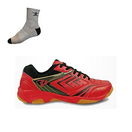 Giày cầu lông nam nữ Promax PR19002 mẫu mới, hàng chính hãng, nhiều màu lựa chọn - Tặng tất thể thao Bendu cao cấp