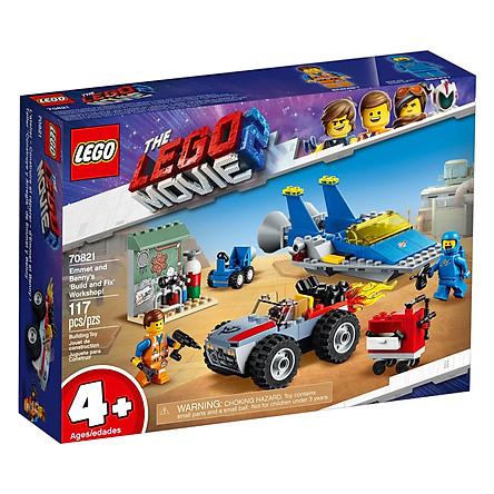 Đồ Chơi Lắp Ghép, Xếp Hình LEGO - Xường Lắp Ráp Của Emmet Và Benny 70821