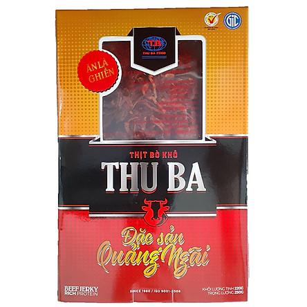 Thịt bò khô Quảng Ngãi 250gr xé sợi