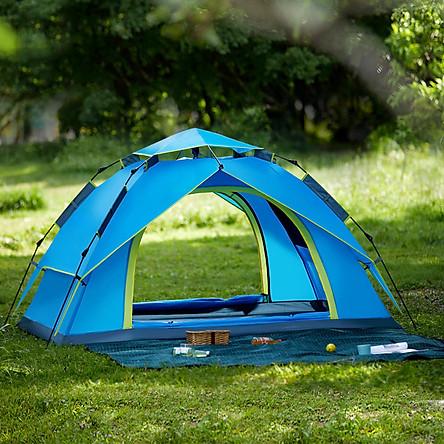 Lều tự bung 2 lớp cho 5-6 người (260*230*155cm) dùng cho đi du lịch dã ngoại hoặc cắm trại ngoài trời GL1666