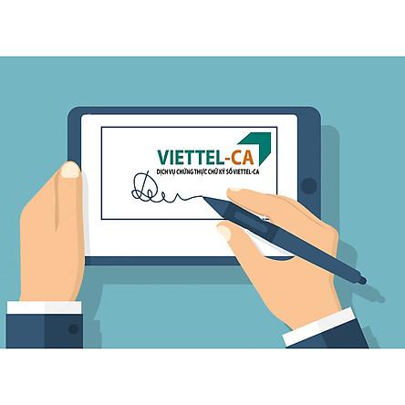 Gia hạn chữ ký số HSM Viettel - Gói gia hạn 3 năm chữ ký số chỉ ký phần mềm hóa đơn điện tử Viettel Sinvoice - CHÍNH HÃNG 100%