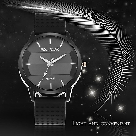 Stylh Lovers Watch Men And Women Can Be Simple And Elegant Black Hands