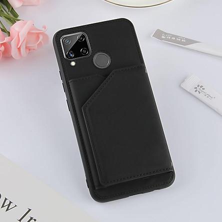 Ốp lưng điện thoại dạng ví da có ngăn đựng thẻ cho OPPO A7 A5S A12 Realme C15 C11 C3 Realme 7 7i 6 6i 5 5s