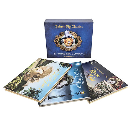 Bloomsbury The Guinea Pig Classics Box Set (The Greatest Works Of Literature...)